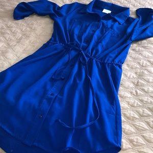 Sienna sky - button down dress size M